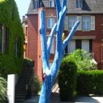L'arbre Bleu ou l'Homme Debout